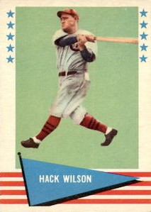 Top 10 Hack Wilson Baseball Cards 1
