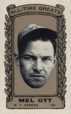 Top 10 Mel Ott Baseball Cards 1