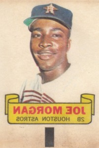1966 Topps Rub Offs Joe Morgan
