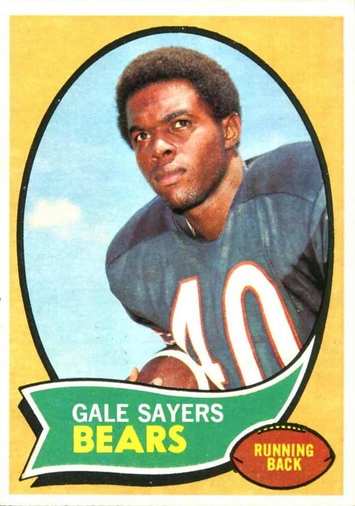 Top 10 Gale Sayers Football Cards 5