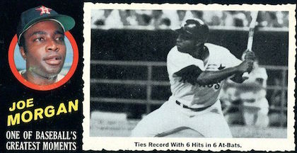 Top 10 Joe Morgan Baseball Cards 5