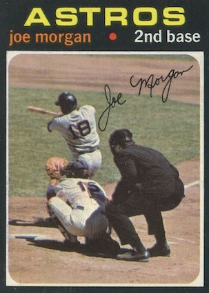 Top 10 Joe Morgan Baseball Cards 7