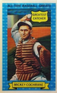 Top 10 Mickey Cochrane Baseball Cards 1