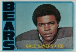 Top 10 Gale Sayers Football Cards 1