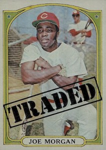 1972 Topps Joe Morgan #752