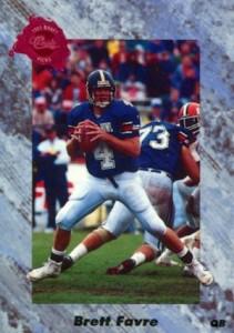 1991 Classic Four Sport Brett Favre #129