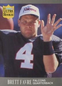 1991 Ultra Update Brett Favre #U1