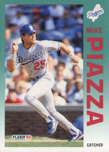 1992 Fleer Update Mike Piazza #U-92