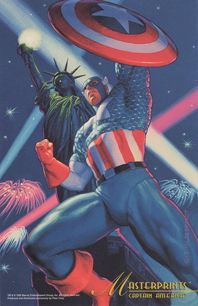 1994 Fleer Marvel Masterpieces Trading Cards 11