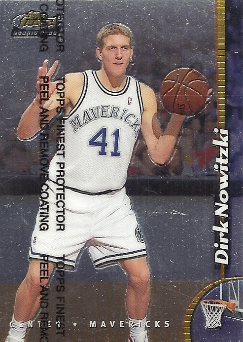 Dirk Nowitzki Rookie Cards Checklist 1