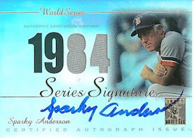 Top 10 Sparky Anderson Baseball Cards 8