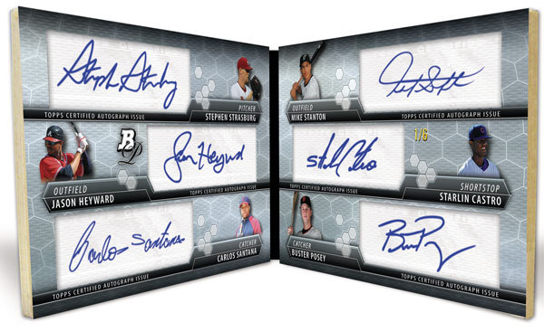 2010 Bowman Platinum Baseball 8