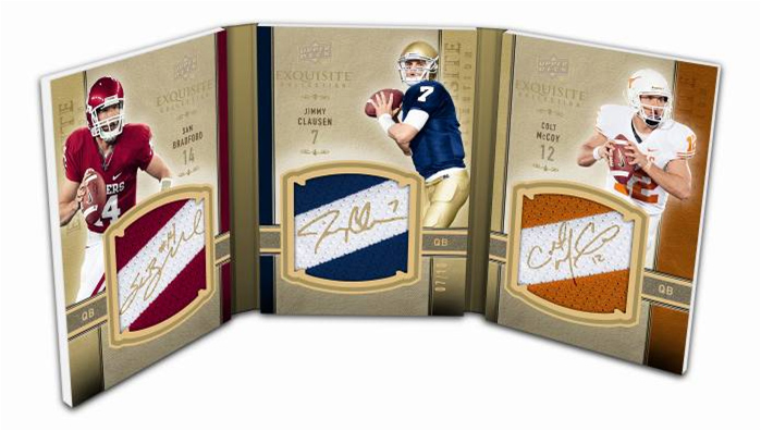 2010 Exquisite Collection Football 15