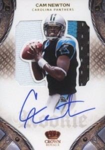 Top 10 Cam Newton Rookie Cards 4