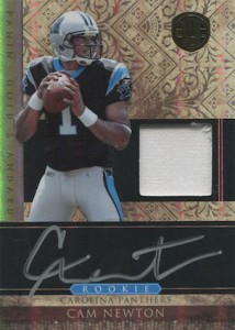 Top 10 Cam Newton Rookie Cards 2