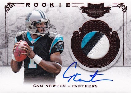 Top 10 Cam Newton Rookie Cards 3