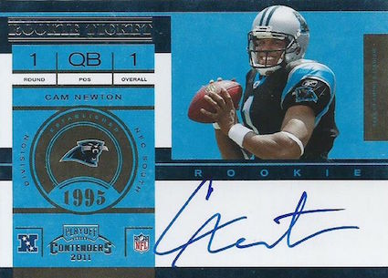 Top 10 Cam Newton Rookie Cards 7