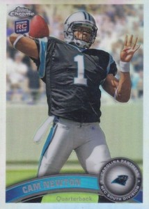 Top 10 Cam Newton Rookie Cards 1