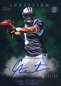 Top 10 Cam Newton Rookie Cards 6
