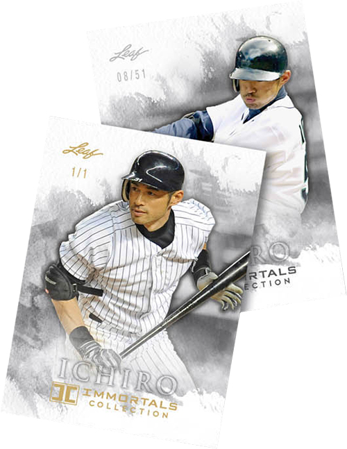2013 Leaf Ichiro Immortals Collection Baseball Checklist