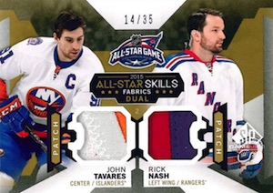 2015-16 SP Game Used Hockey 2015 All-Star Skills Fabrics Duals Patch