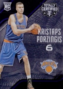 2015-16 Totally Certified Base RC Porzingis