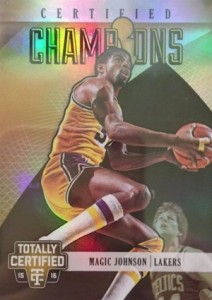 2015-16 Totally Certified Champions Gold Magic Johnson