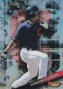 2015 Bowman's Best Francisco Lindor RC #3