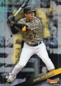 2015 Bowman's Best Jung Ho Kang RC #49