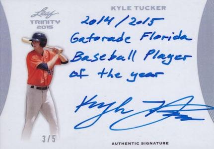 2015 Leaf Trinity Baseball Cards 34
