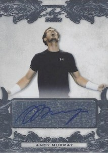 2015 Leaf Ultimate Tennis Base Autographs Andy Murray Silver