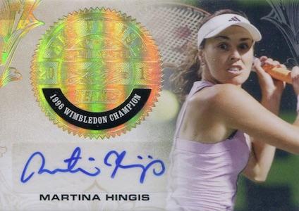 2015 Leaf Ultimate Tennis Big Finish Autographs Hingis