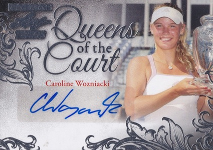 2015 Leaf Ultimate Tennis Queens Court Autographs Wozniacki