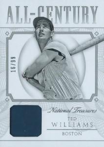 2015 National Treasures Baseball All-Century Relic