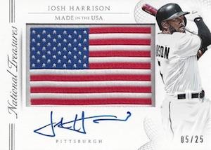 2015 National Treasures Baseball Made in