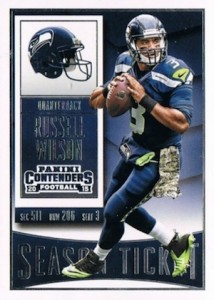 2015 Panini Contenders Football Cards - SP/SSP Print Runs List Added 22