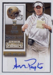 2015 Panini Contenders Football Cards - SP/SSP Print Runs List Added 27
