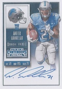 2015 Panini Contenders Football Rookie Ticket RPS Autograph Abdullah