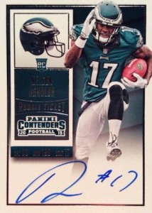2015 Panini Contenders Football Rookie Ticket RPS Autograph Agholor