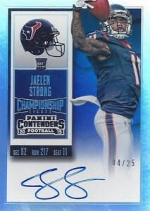 2015 Panini Contenders Football Rookie Ticket RPS Autograph Jaelen Strong
