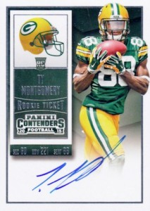 2015 Panini Contenders Football Rookie Ticket RPS Autograph Ty Montgomery