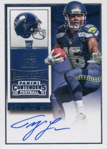 2015 Panini Contenders Football Rookie Ticket RPS Autograph Tyler Lockett