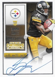 2015 Panini Contenders Football Rookie Ticket RPS Autograph Variation Coates