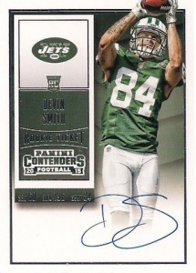 2015 Panini Contenders Football Rookie Ticket RPS Autograph Variation Devin Smith