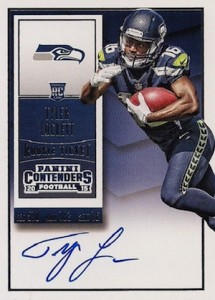 2015 Panini Contenders Football Rookie Ticket RPS Autograph Variation Lockett