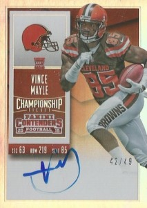 2015 Panini Contenders Football Rookie Ticket Autograph Variations Guide Update 80