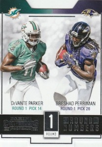 2015 Panini Contenders Football Cards - SP/SSP Print Runs List Added 36