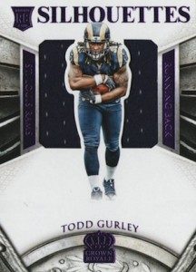 2015 Panini Crown Royale Todd Gurley RC #238 Jersey