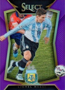 2015 Panini Select Soccer Base Purple Messi