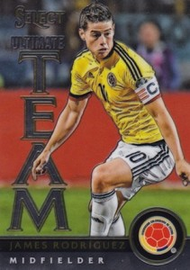 2015 Panini Select Soccer Stars Ultimate Team James